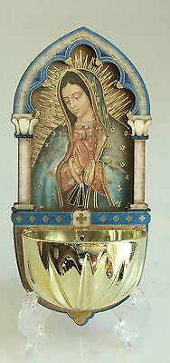 Our Lady Of Guadalupe Multi-Dimensional Holy Water Font