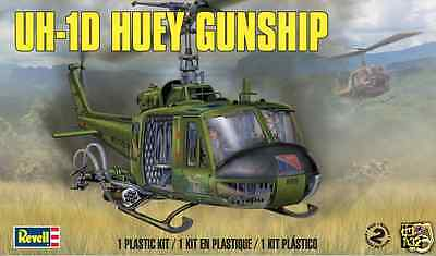 Revell 1/32 UH-1D Huey Gunship Plastic Model Kit 85-5536