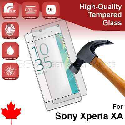 Premium Tempered Glass Screen Protector for Sony Xperia XA from Canada