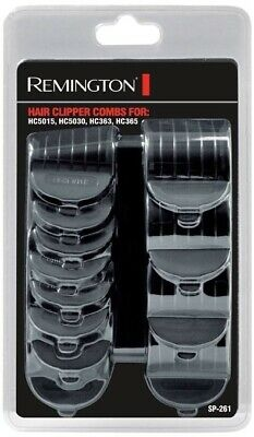 Remington 12 Comb Attachments Set Guide Combs for HC5015 HC5030 HC363 HC365 New
