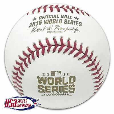 Rawlings 2016 World Series Official MLB Game Baseball Chicago Cubs - Boxed