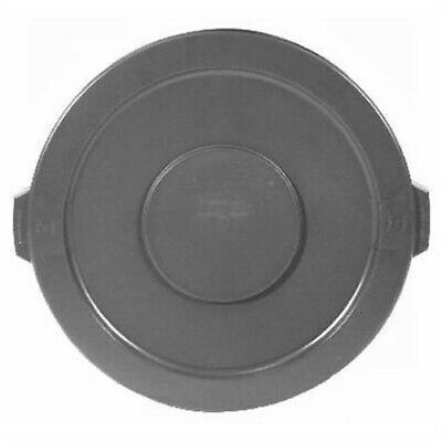"Round Brute Lid For 10-Gallon Waste Containers, 16"" Diameter, Gr,No 2609-00-GRAY"