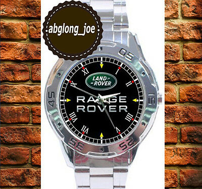 New LAND ROVER RANGE ROVER SUV Custom Chrome Men's Casual Watch Wristwatches