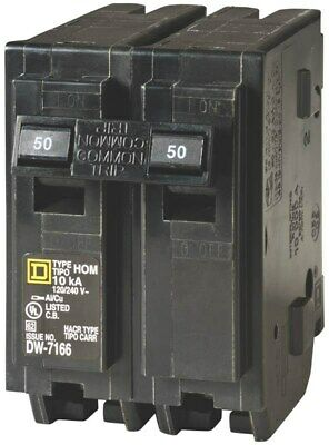 Homeline Double Pole Circuit Breaker by Square D By Schneider Electric, 3PK