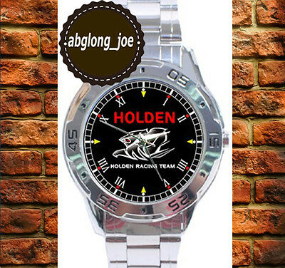 New HOLDEN RACING TEAM Custom Chrome Men's Casual Watch Wristwatches