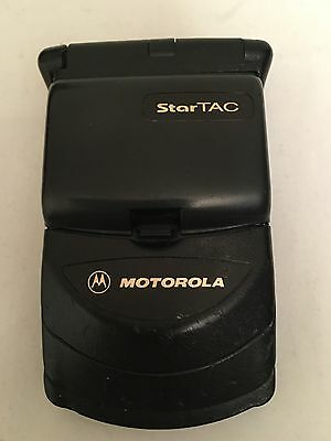 Vintage Motorola Startac ST7868W Flip Cell Mobile Phone FOR PARTS OR REPAIR
