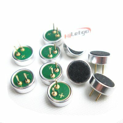 10PCS 6 * 2.2mm Electret Condenser Microphone MP3 Microphone Accessory