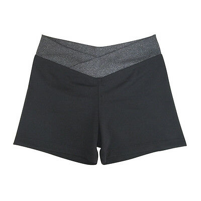 New Fitness Yoga Shorts Child & Adult Poly Span A comfortable fit