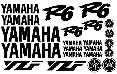 Yamaha R6 Yamaha R1 Decal Kit, Fit For R6 or R1, Many Colors To Chose From
