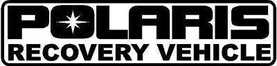 POLARIS Recovery Vehicle Decal Kit, Many Colors To Chose From