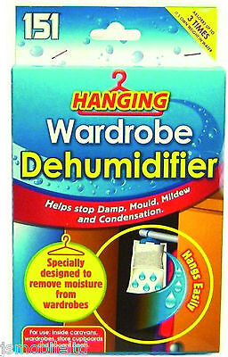 New Interior Dehumidifier Bags Moisture Absorber Damp Mould Cloth Wardrobe