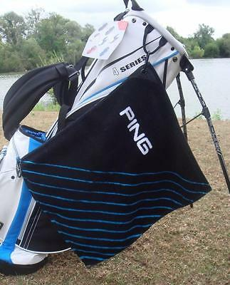 Ping Golf - Clip Towel + FREE Ping Tour Tees & Free Delivery