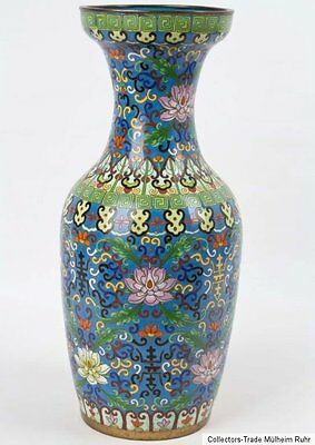 China 20. Jh. A Chinese Cloisonné Enamel Vase - Vaso Cinese Jarrón Chinoise