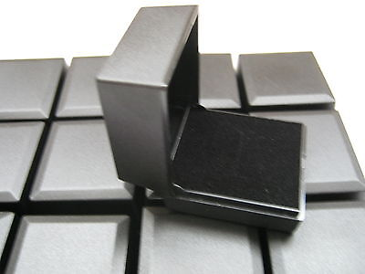 50 x NEW BLACK RING BOXES GREAT FOR JEWELLERY CRAFT PRESENTATION