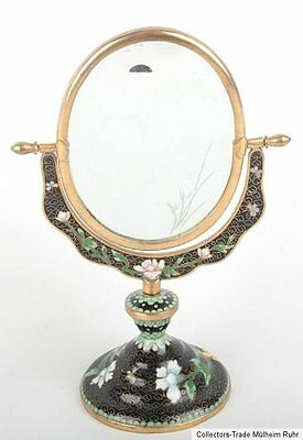 China 20. Jh. Spiegel -A Chinese Cloisonne Enamel Mirror Specchio Cinese Chinois