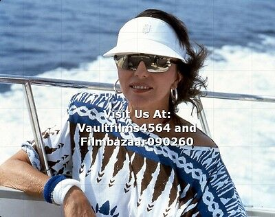 """JOAN COLLINS - 10"""" x 8"""" Colour Photograph taken in SOUTH OF FRANCE 1986 #1965"""