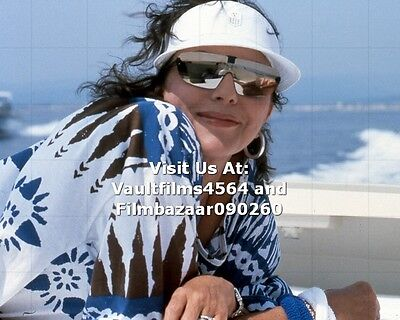 """JOAN COLLINS - 10"""" x 8"""" Colour Photograph taken in SOUTH OF FRANCE 1986 #1969"""