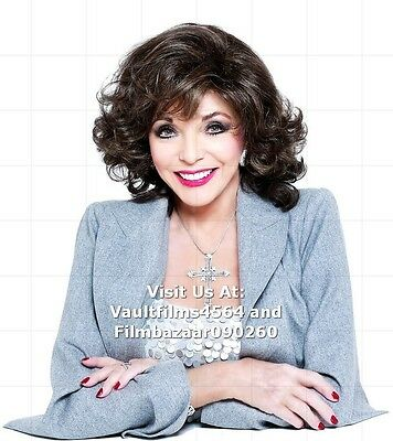 """JOAN COLLINS - 10"""" x 8"""" Colour Photo 'JOAN COLLINS WIG COLLECTION' #1843"""