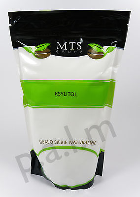 Ksylitol Slodzik XYLITOL Natural Sweetener Sugar Alternative 1kg 1000g