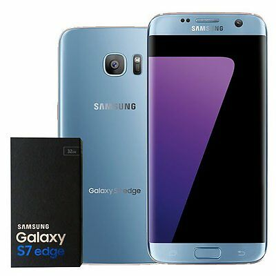 Samsung Galaxy S7 Edge G935P 32GB Unlocked Smartphone Black Gold Blue Coral