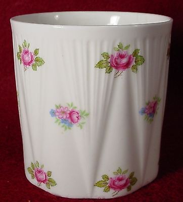 SHELLEY china ROSEBUD 13426 Dainty Shape JAM JAR no Lid 2-7/8""