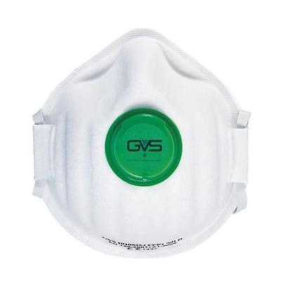 GVS ( manufacturers of Elipse ) Moulded FFP1 Valved Disposable Dust Mask Box 15