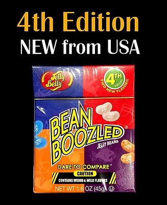 NEW 4th Edition Jelly Belly BeanBoozled 45g - beanboozled challenge