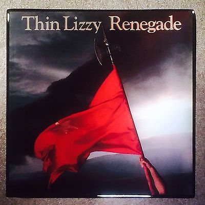 THIN LIZZY Renegade Ceramic Tile Coaster Record Cover