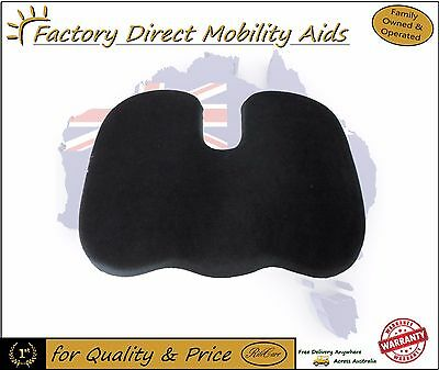 REAL Memory Foam Coccyx Orthopedic Car Seat Office Cushion Lumbar Pain Relief