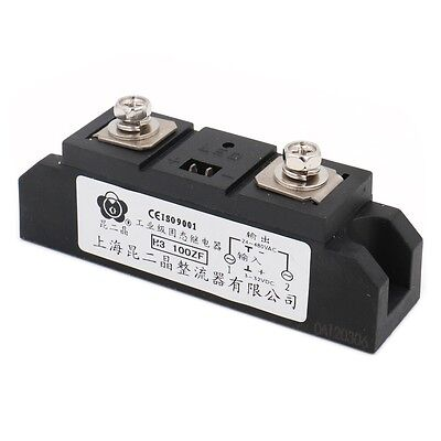 Solid State Relay H3100ZF 3-32VDC 380VAC 100A DC to AC with LED Indicator lamp