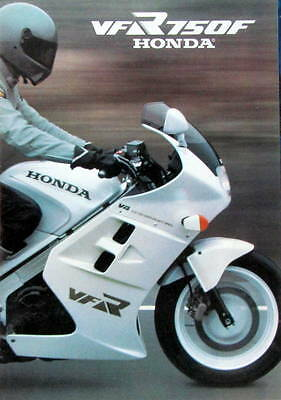 1985 Honda Vfr 750 F  Catalogue