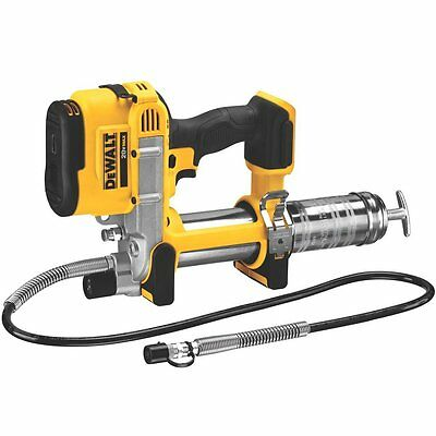 DEWALT 20V MAX Lithium Ion Tool Grease Gun machine pump LED light heavy duty