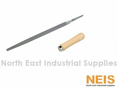 Nicholson Square File, High Quality Industrial File, With Handle, Free Post
