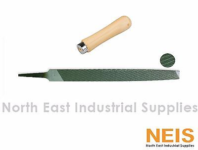 "Nicholson 12"" Flat Magicut File, High Quality Industrial Standard With Handle"