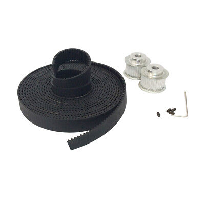 HTD 3M Timing Pulley 38 Tooth +3M Black Rubber Open Ended Timing Belt Width 16mm
