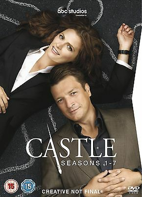 CASTLE - Complete Series 1-7 Collection Boxset (NEW DVD R4)
