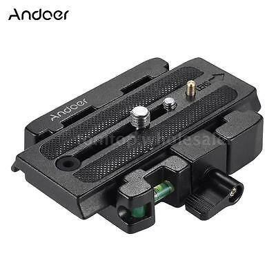 Tripod Quick Release Clamp QR Plate for Manfrotto501 500AH 701HDV 503HDV Q5 O3R6