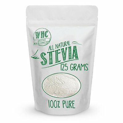 Natural Stevia Powder Highly Concentrated Stevia Extract Sugar Substitute (125g)