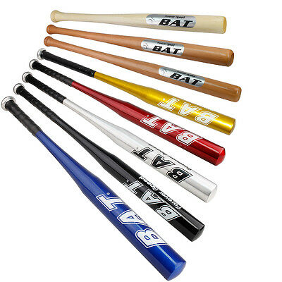 Wooden Aluminum Alloy With Rubber Grip Baseball Bat Lightweight 24-36 Inches
