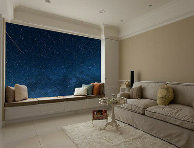 Milky Way Shooting Star Full Wall Mural Photo Wallpaper Print Home 3D Decal