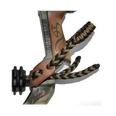 Compound Bow Wrist Sling Adjustable Hunting Archery Durable Nylon Accessories
