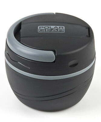 Polar Gear 500ml Insulated Lunch Pod Plastic Microwave Food Pot Bowl Box Black