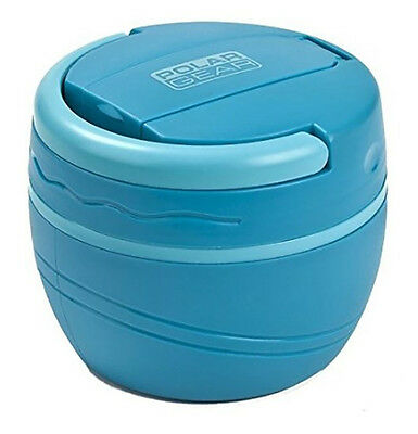 Polar Gear 500ml Insulated Lunch Pod Microwave Food Pot Bowl Box Turquoise Blue