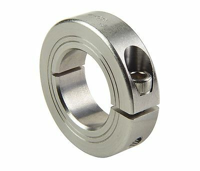 RULAND Shaft Collar, Clamp, 36mm, 303 Stainless, #MCL-36-SS !80D!