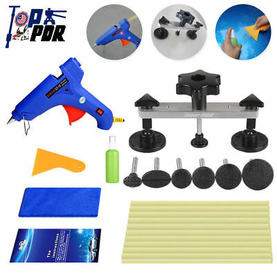 Paintless Dent Repair Bridge Puller Glue Gun Glue Sticks PDR Tools Dent Removal