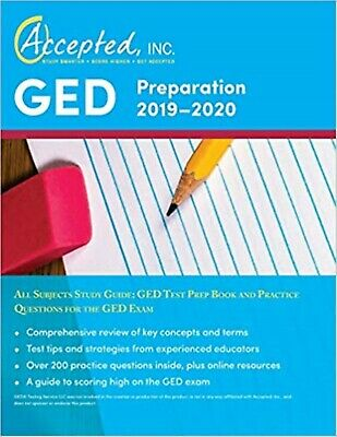 GED Preparation 2019-2020 All Subjects Study Guide: GED Test Prep Book Paperback
