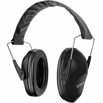 Boomstick Folding Ear Muff Safety Hearing Noise Protection Gun Shooting Black