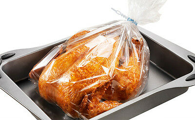 8 x LARGE MULTI PURPOSE OVEN BAGS CHICKEN MEAT BEEF ROASTING COOKING BOILING