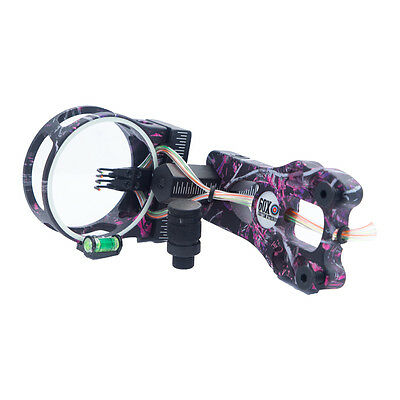 Muddy Girl Fiber Optic Lighted Sight .019 4 Pin Compound Bow LS2