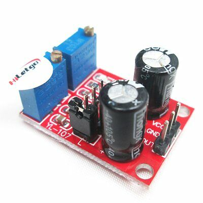 NE555 Pulse Frequency Square Wave Signal Generator Module Stepper Motor Driver